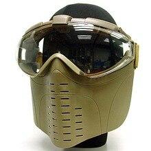 3 цвета Marui Goggle Военная Боевая Полнолицевая тактическая маска с вентилятором для охоты страйкбол Пейнтбол Feild игровое оборудование на открытом воздухе