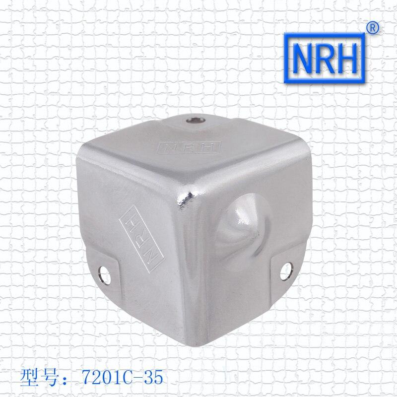 Caja de aluminio ángulo de equipaje de ángulo bolsas de aire maletero hardware, ángulo protección ángulo 7201C-35