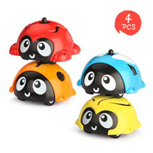 4PCS Inertial Gyroscope Children's Fingertip Gyro Car Mini Car Children Inertial Sliding Toy Car Novel Toys тет а тет