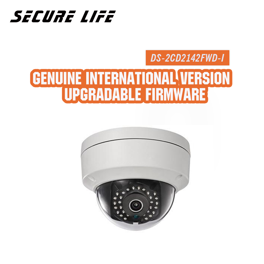 In stock English version DS-2CD2142FWD-I 4MP mini dome network cctv camera, P2P 1080p IP camera POE 120dB WDR dhl free shipping in stock new arrival english version ds 2cd2142fwd iws 4mp wdr fixed dome with wifi network camera