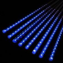 Multi-color 30cm/50cm LED Lights Meteor Shower Rain Tubes Garden Light Christmas Lights Wedding Party String Light Outdoor YX#