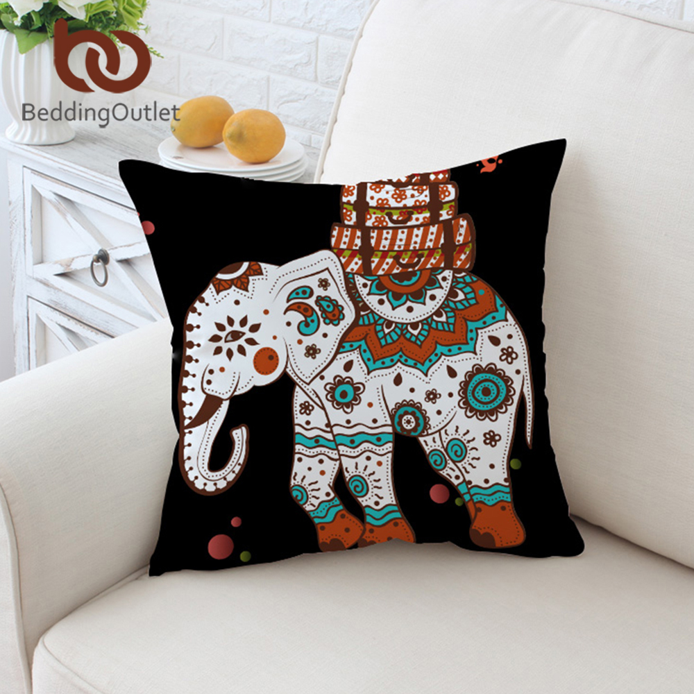 deux faits main lin noël coussins/couverture, coussin, décoration