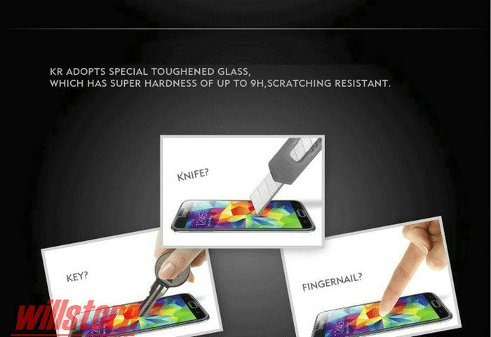 Pelindung Layar Kaca Tempered untuk ASUS Zenfone Selfie ZD551KL 2 - Aksesori dan suku cadang ponsel - Foto 5