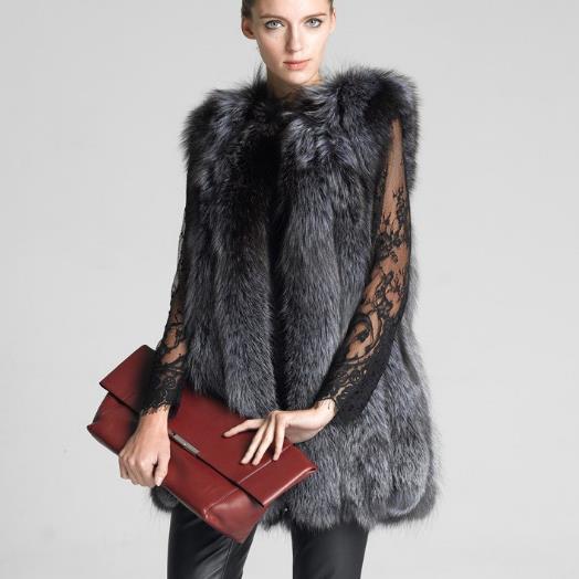 En 2019 Femmes Faux De Z150 Femme Mode Grande Veste Artificielle Manteau D'hiver Chaud Fourrure Taille Gilets Vestes Gilet zqwdn5Sn