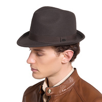 42e3c97fe0 Sedancasesa New England Style Christmas Fedora Jazz Hat Men Women 100 Wool  Female Male Trilby Cap
