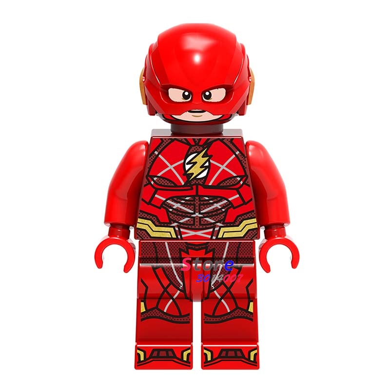 50pcs super heroes marvel dc comics model Justice League The Flash building blocks bricks friends hobby