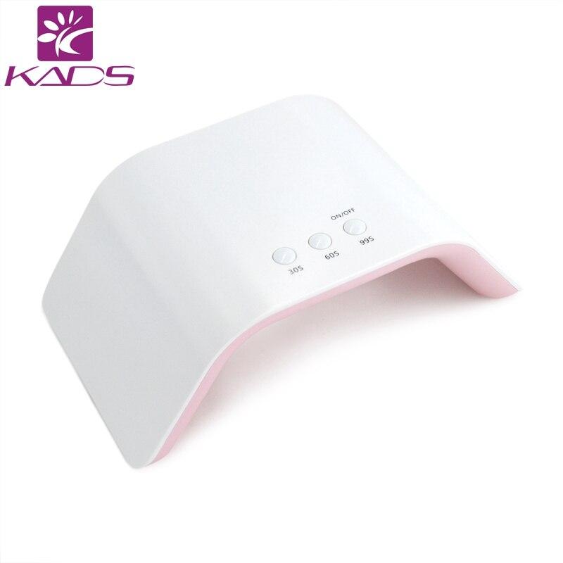 KADS 24 w UV Lampe LED Lampes Nail Sèche-Nail Lampes pour Nail UV Gels Polonais USB Charge Nail Art manucure Outils avec Auto Capteur