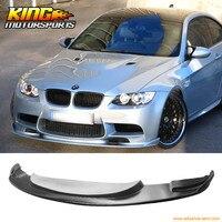 עבור 08 13 BMW E90 E92 M3 שפתיים פגוש קדמי בסגנון H Urethane-בלוחית רישוי מתוך רכבים ואופנועים באתר