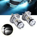 2pcs H7 50W LED Fog DRL Driving Car Head Light Lamp Bulbs White Super Bright