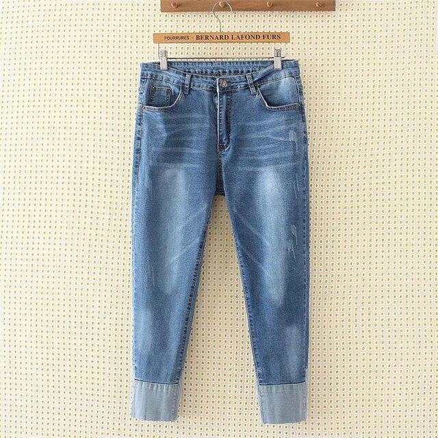 327e44fba94 4XL plus size Jeans Pants Women Trousers Casual Plus Size Loose Fit Vintage  Denim Pants High Waist Jeans Women Vaqueros