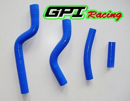 BLUE for YAMAHA YZF250 YZ250F YZF 250 07 08 09 2007 2008 2009 dirt bike motocross silicone radiator hose PIPE