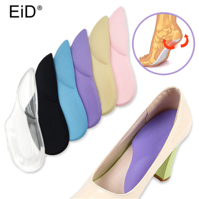 79bfd81496 EID 3/4 Orthopedic Arch Supports Shoe Insoles Heels Pads for High Heel Shoe  Liners Gel Inserts Pain Relief palmilha Insole
