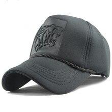 bba51919f74 2018 Hip Hop Black leopard Print Curved Baseball Caps Summer Mesh Snapback  Hats For Women Men