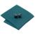Mens clássicos Laços Define Listrado Verde Gravata Lenço Abotoaduras com Caixa Branca Saco Laços Para Homens Ternos B-1179