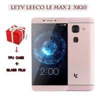 "Original Letv leEco Le Max 2 X820 4G LTE Mobile Phone 4G RAM 32G ROM Snapdragon820 Quad Core 5.7""Camera 21MP Smartphone"
