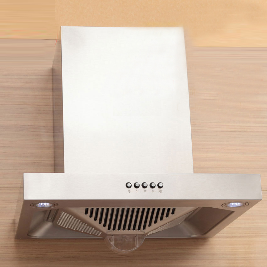 600mm Stainless Steel Range Hood Strong Suction High Efficiency Top Suction Kitchen Mini Smoking Machine Cxw 216 T60