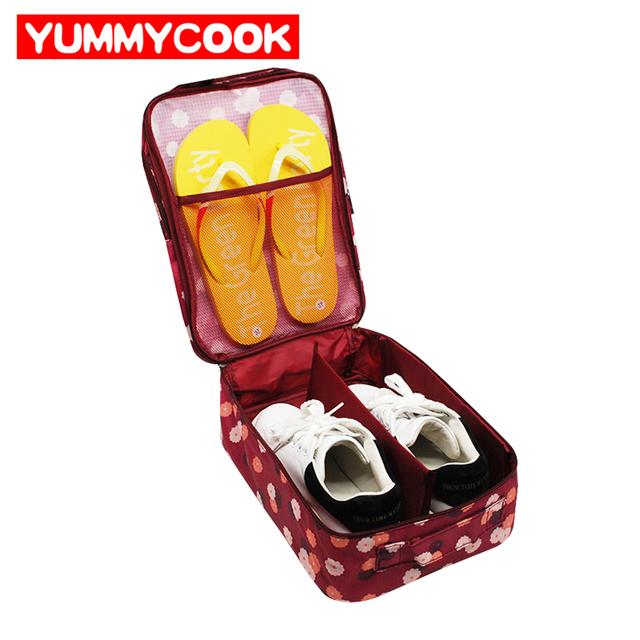 Travel Shoes Storage Lady Cosmetic make up Bag Clothes Underwear Bra Pantie organization Weekend Overnight Accessories Supplies