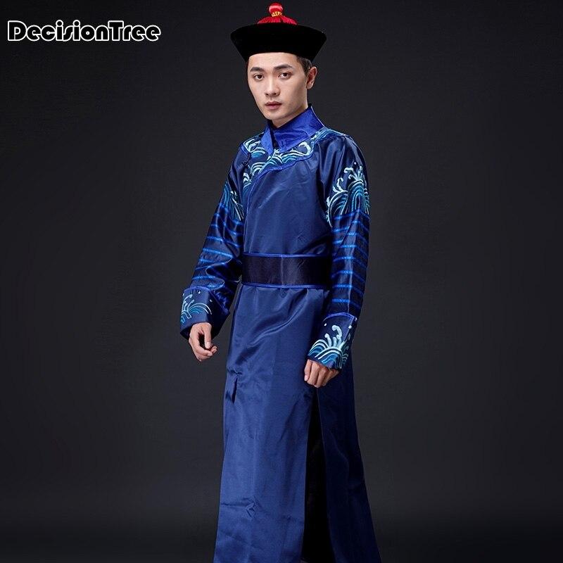 2020 original traditionnel hanfu brodé croix cravate épées homme femme style robe uniforme costume spécial - 4