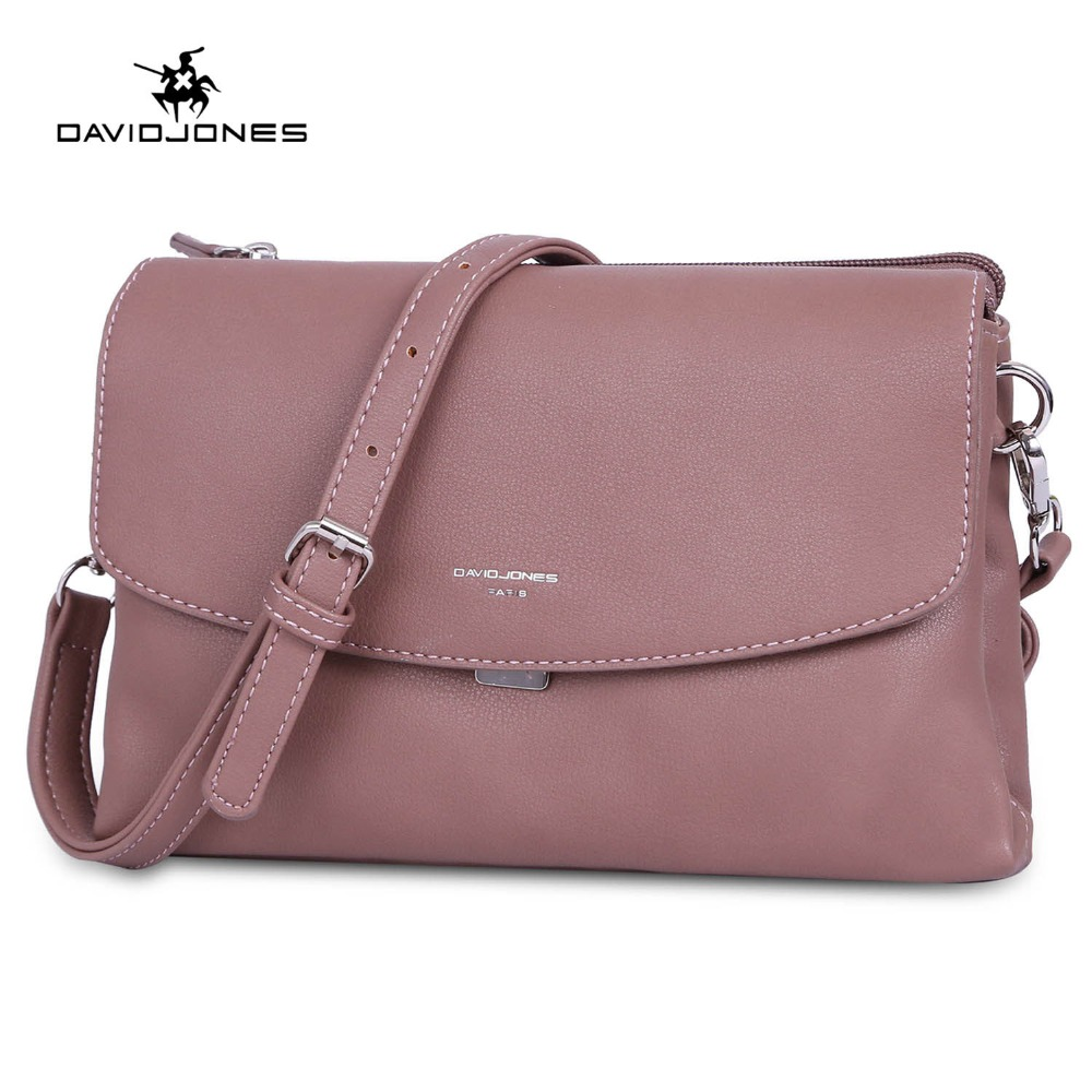 DAVIDJONES women shoulder bags pu leather female handbag mini lady solid messenger bag girl brand crossbody bag drop shipping цена 2017