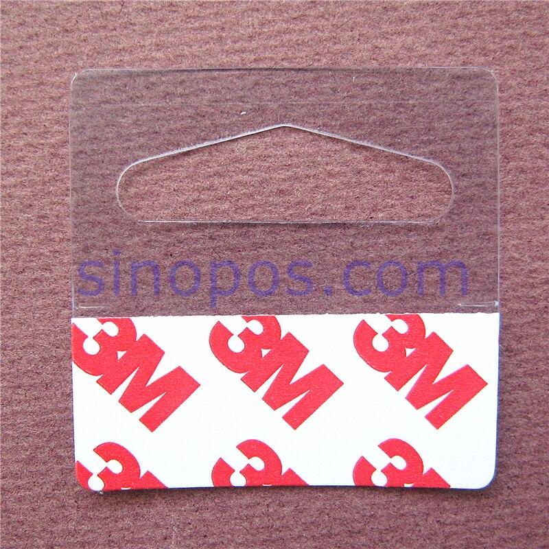Bulk Hang Tabs Delta Slotted Self Adhesive Merchandise