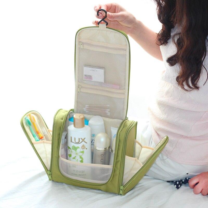 Waterproof neceser women Makeup bag men Cosmetic Bag Travel Organizer Case  Necessaries Make Up handbag Toiletry kits storage bag-in Cosmetic Bags    Cases ... 1cafcced9b
