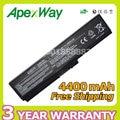 Apexway 4400 мАч Аккумулятор для Toshiba Satellite Pro C650 C660D c660-1d0 L630 L670 U400 U500 C660 L640 T110 T115 T135 U400 U405