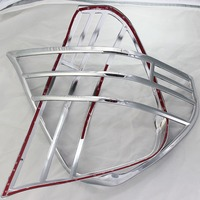 For Toyota Mark II GX110 2000 2002 2003 2005 2006 2007 ABS Chrome plated Rear Light Lamp Cover Trim Tail Light Cover 2pcs