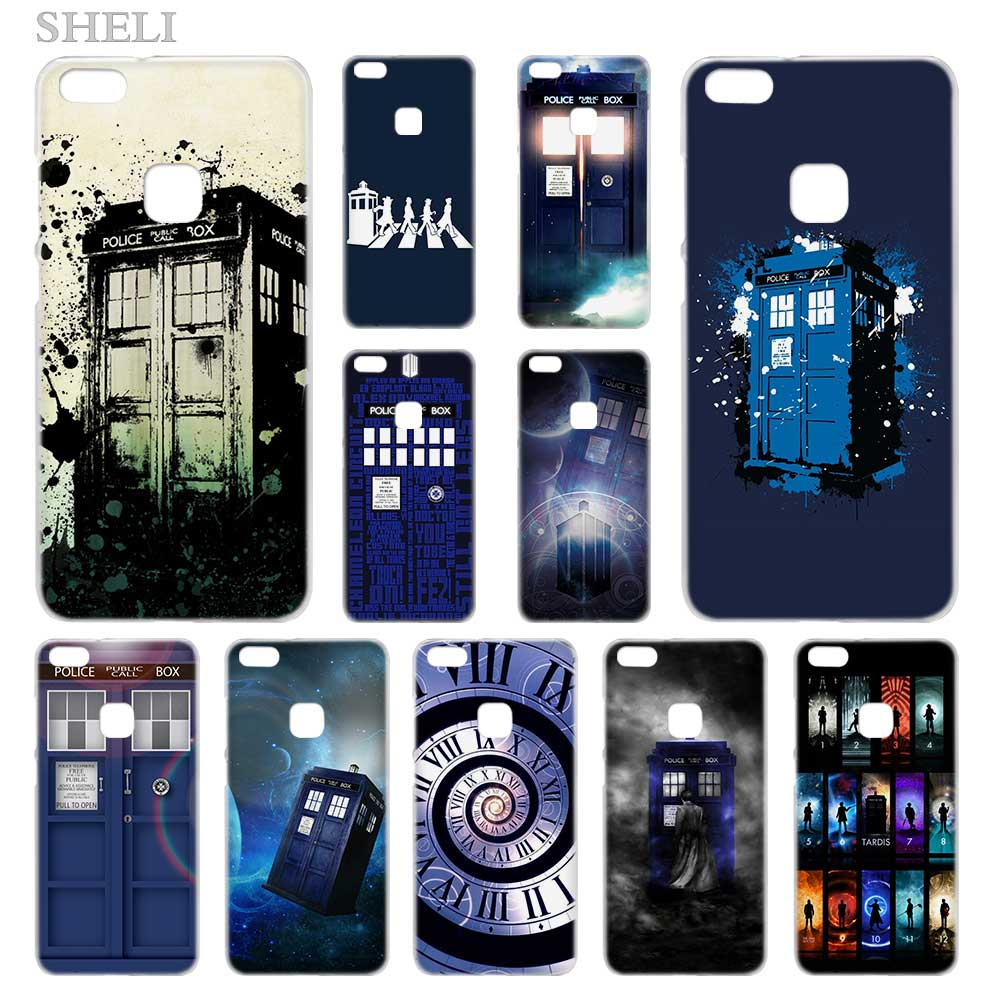 Phone Bags & Cases Collection Here Binyeae Tardis Box Doctor Who Case Cover Hard Plastic For Huawei P8 P9 P10 P20 Lite Plus Pro Lite 2017