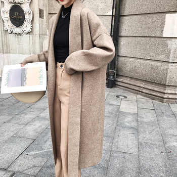 H.SA Women Winter Clothes 2019 Cashmere Sweater Caedigans Oversized Long Jacket Coat Winter Warm Batwing Knit Ponchoes Coat - DISCOUNT ITEM  38% OFF All Category