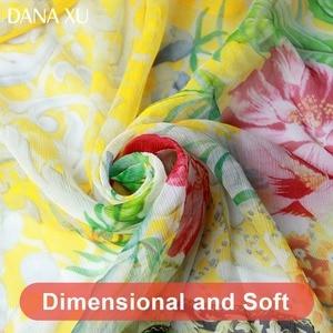 Image 5 - 2019 Silk Long Scarf Luxury Brand Women New Design Beach Blanket Shawl Wear Swimwear Bandana Hijab Face Shield Foulard 245*110cm