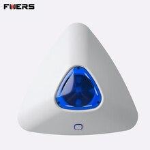 FUERS 433MHz kablosuz Alarm flaş ses ışığı Siren sensörü G90B artı G90B 3G ev güvenlik hırsız alarmı sistemi