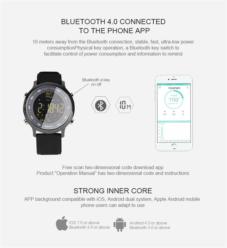 Makibes EX18 Bluetooth Sport Watch (14)