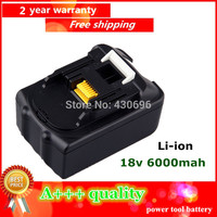18V Li Ion 6 0 Ah Replacement For Makita BL1830 LXT400 194205 1 194205 3 194230