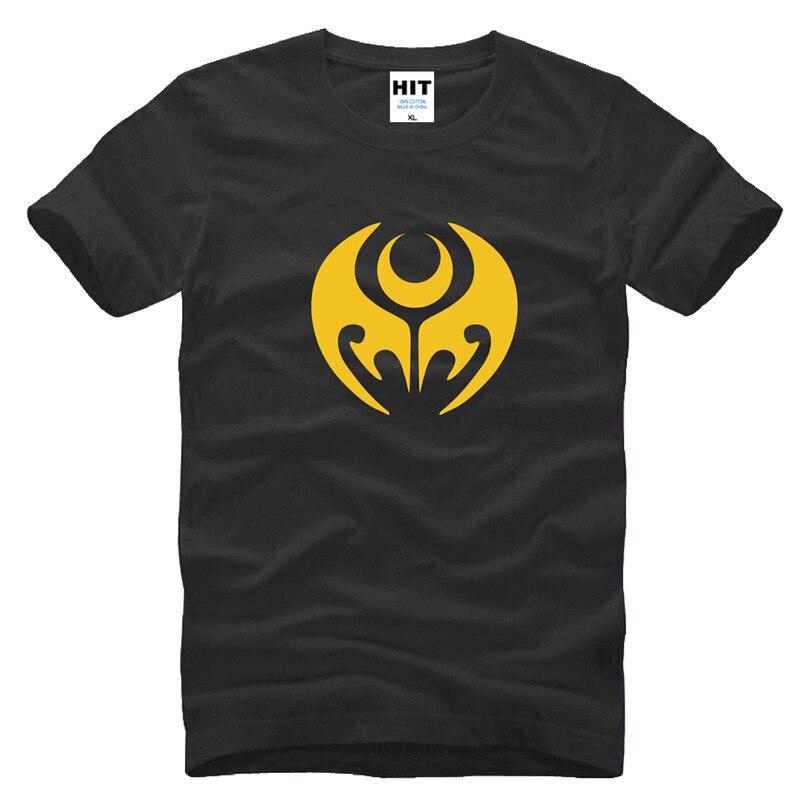 가면 가면 라이더 키바 애니 타임 남성 티셔츠 티셔츠 패션 2015 뉴 반소매 티셔츠 티셔츠 Camisetas Masculina