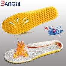 3 ANGNI/теплые кашемировые теплые стельки; утолщенная Мягкая дышащая зимняя спортивная обувь с вставкой для мужчин и женщин