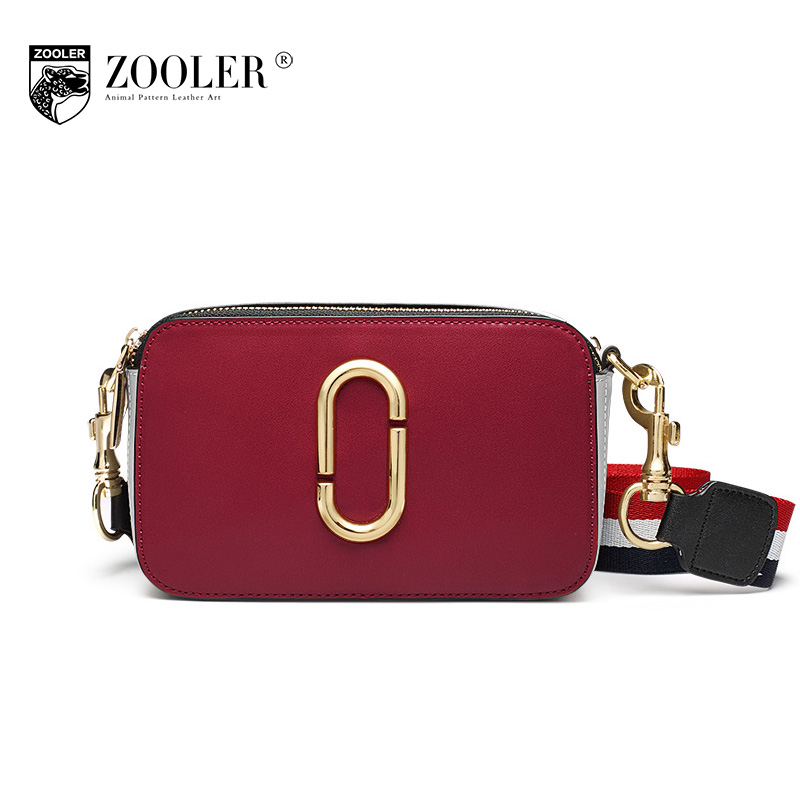 ZOOLER Women Hit Color Genuine Leather Small Bag 2018 Spring Female Casual Messenger Shoulder Bags for Women Crossbody Bag Bolsa zooler brand genuine leather shoulder bags for women casual messenger bag ladies small cowhide leather crossbody bags sac a main