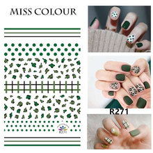 цена на 1 PC Water Transfer Nail Stickers Decals Summer Fruit Pattern Nail Art Stickers Wraps Manicure Decoration