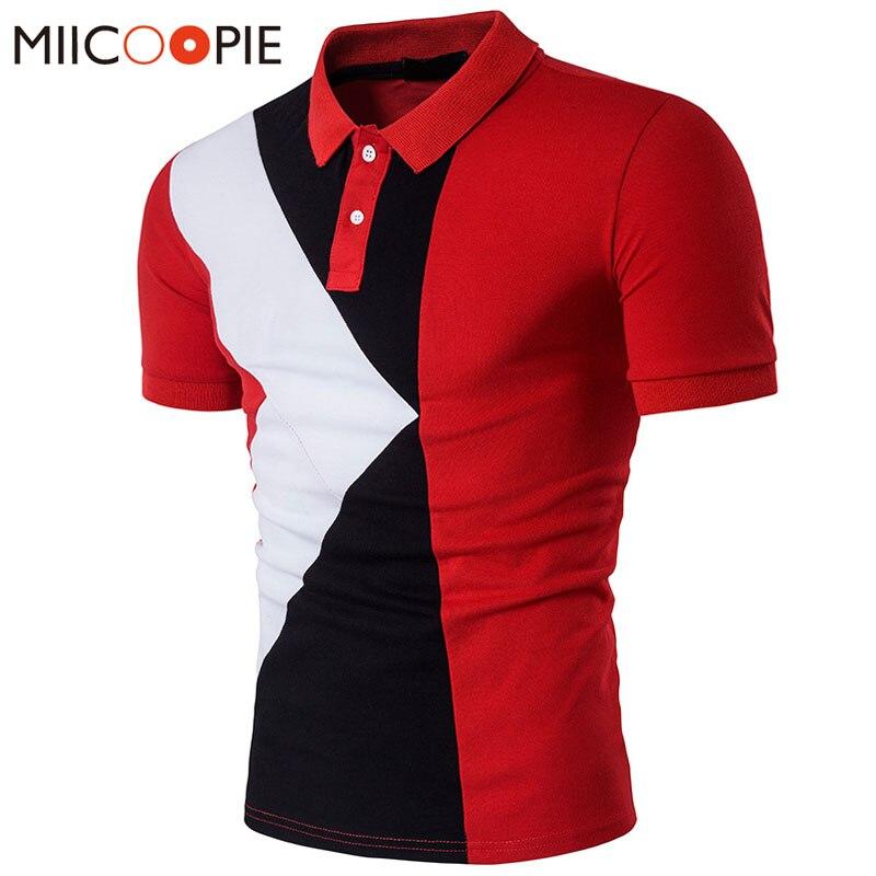 Polo   Shirt Men   Polo   Homme Patchwork Short Sleeve Brands Red Camisa Masculina   Polo   Hombre   Polo   Ralphmen Men Tops&Tees