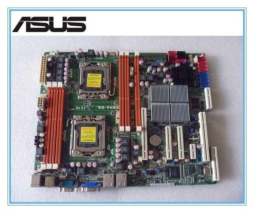 original motherboard ASUS Z8NA D6 LGA 1366 DDR3 Dual 1366 Server Board Desktop mainboard Free shipping