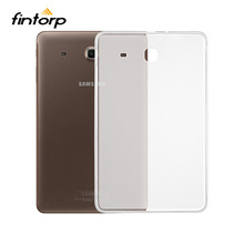 Buy Ultra-thin Transparent Case Covers For Samsung Galaxy Tab E 9.6 T560 T561 9.6 inch Waterproof Soft TPU Clear Cases Cover Bumper directly from merchant!