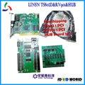 Linsn TS802 отправка карты + RV901 + hub75 полноцветный видео светодиодный экран контроллера карты