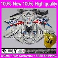 Fairing For SUZUKI Blue White GSXR1000 GSXR 1000 09 10 11 12 13 90B24 K9 GSXR