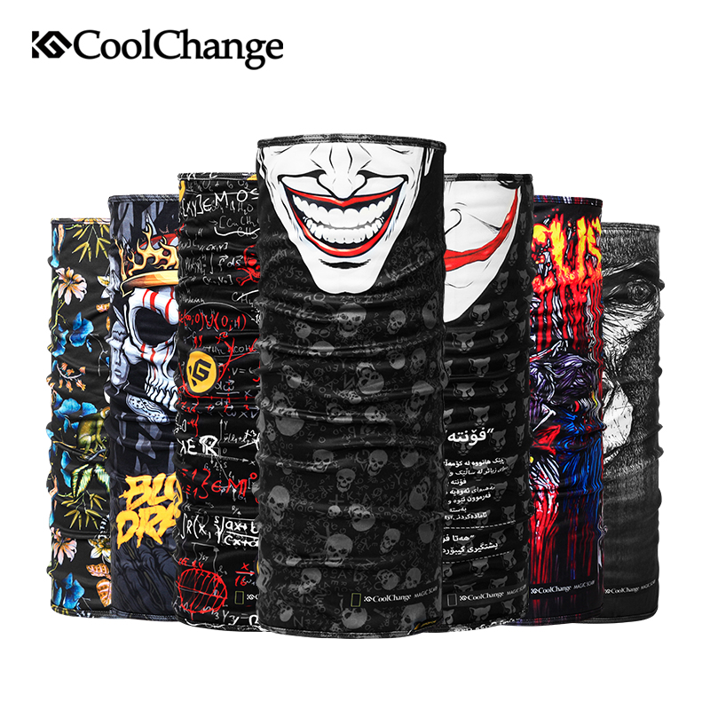 CoolChange Cycling Bandana Winter Fleece Thermal Bandana Outdoor Sports   Headwear   Bike Ride Neck Mask Bicycle Headband Scarf
