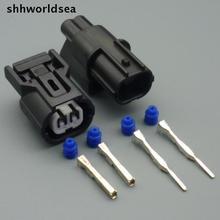 Shhworld Sea 2 штифта 1,0 мм разъем для датчика Автомобильный датчик давления на впуске штекер фары сигнал поворота водонепроницаемый разъем для Honda Accord