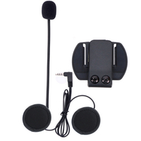 V6 Intercom Accessories Microphone Earphone Clip Bracket ONLY Suit For V6 Motorcycle Helmet Bluetooth Headset Interphone