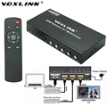VOXLINK 1080P 2X1 HDMI Switcher 2 Input 1 output HDMI Multi-Viewer PIP Switch Box Support HDMI 1.3a HDCP 1.2 With RS232 EU US UK