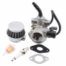 GOOFIT 50cc 90cc 110cc Pz19 Lever Carburetor Air Filter Spark Plug ATV Go-kart Group-58