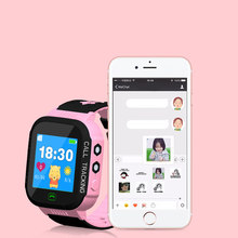 GPS Kids Smart Watch with Touch Screen Camera GPS Tracker Smart watch children Monitor SOS for Baby(China)