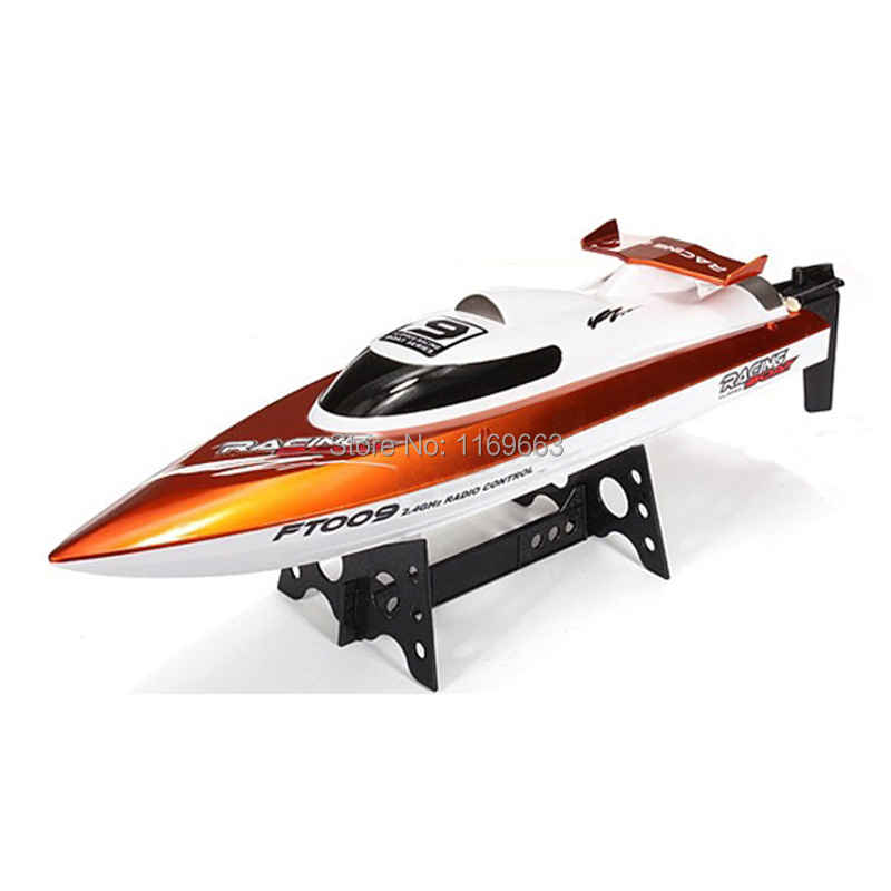 Free Shipping Feilun FT009 2.4G 4CH RC Boat Water Cooling High Speed Racing RC Boat