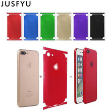 Color Changed Film Phone Styling Membrane for iPhone 6 6S Plus Thin Screen Protector For iPhone 6 7 Plus Protection Accessories membrane keypad film for 2711p k10c4a8 panelview plus 6 1000
